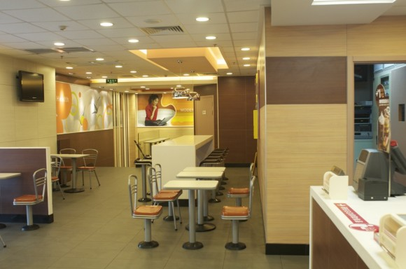 Xi'an: McDonalds interior