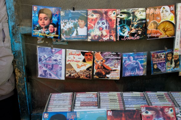 Kabul: fable DVDs sold close to the mosque