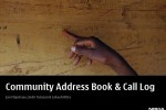 Presentation: Community Address Book