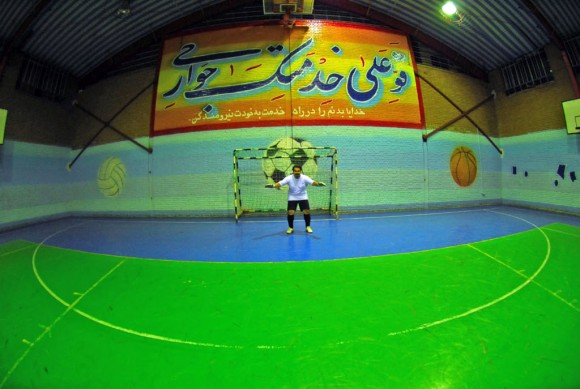 Tehran: 5-a-side, obviously