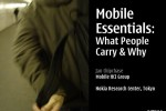 Presentation: Mobile Essentials - What People Carry & Why