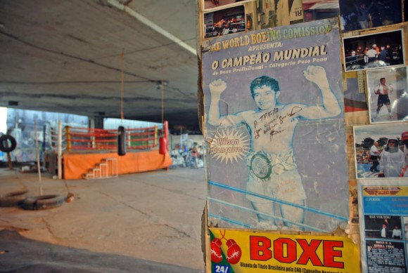 Sao Paulo: the Garrido Boxing Gym