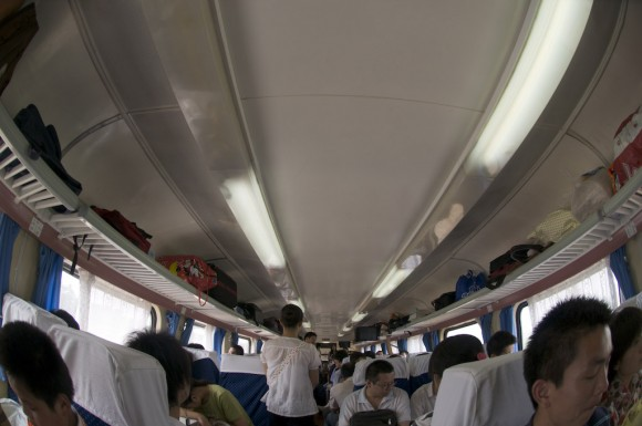 Handan: journeys by train