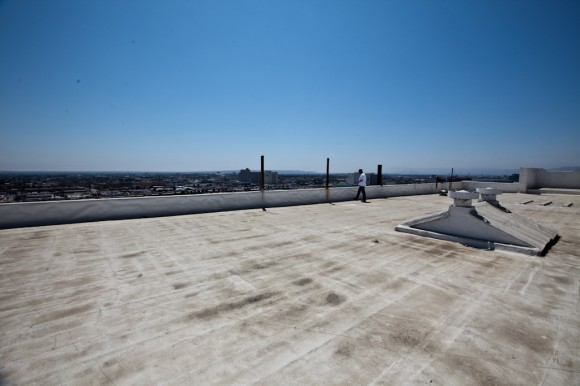 Los Angeles: rooftop views